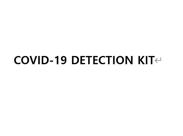 Covid 19 detection kit