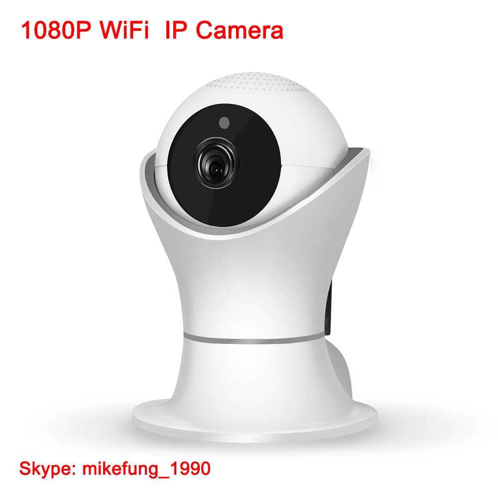 1080P Pan Tilt Home Security Wireless IP Camera fro Baby Monitor