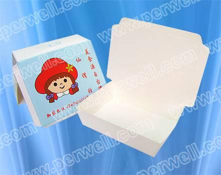 Chinese foods take away boxes