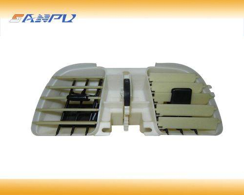 Professional auto plastic air condition precision mould manufactor in zhejiang,plastic injection mac