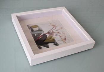 Wood photo frame/picture frame/ deep shadow box frame