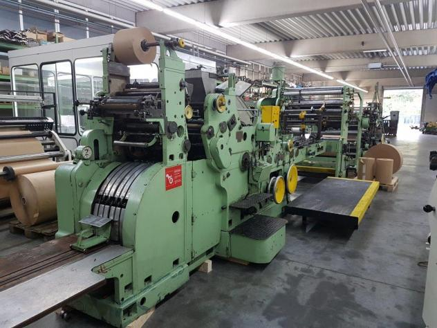 SOS Bag Making Machine with 4 color in-line print