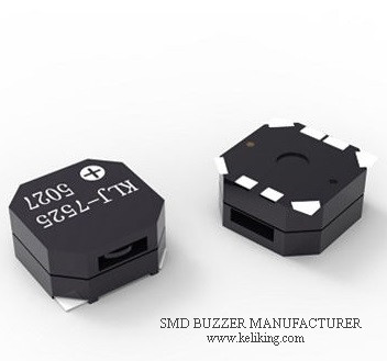 Small Buzzer Surface Mounted Buzzer Micro Buzzer for POS machine, GPS devices and more KLJ-7525-5027