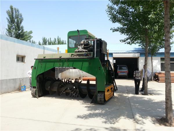 M3600 compost machine, chicken manure compost making machine