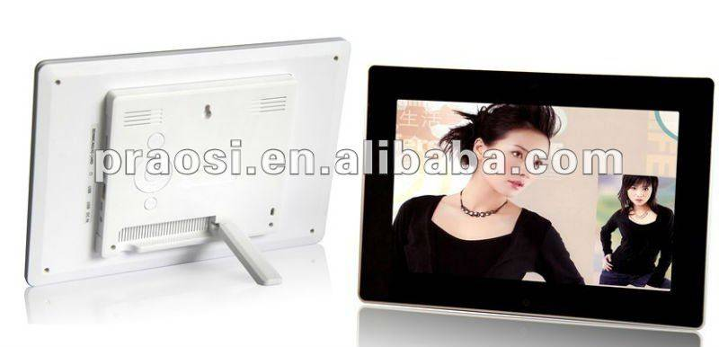 """hot selling 10"""" video digital photo frame with mirror design"""