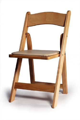 wedding folding chair