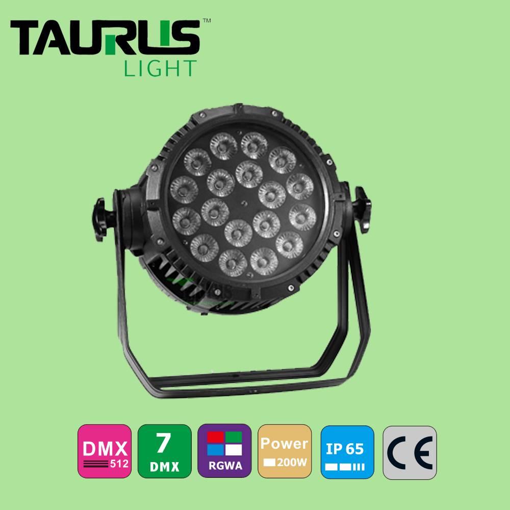 LED Par Light 18*10W RGBW 4 in1 Waterproof Outdoor Par Light Zoom