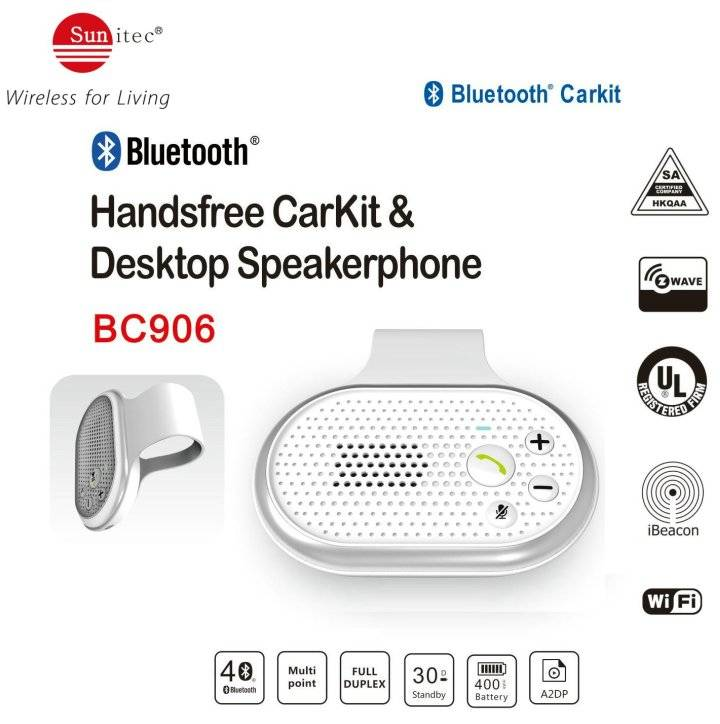 Bluetooth Handsfree Calling kits In-Car Speakerphone