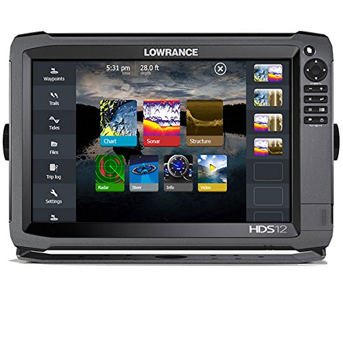 Lowrance 000-11796-001 HDS-12 GEN3 Insight Fishfinder/Chartplotter with CHIRP/StructureScan Sonar an