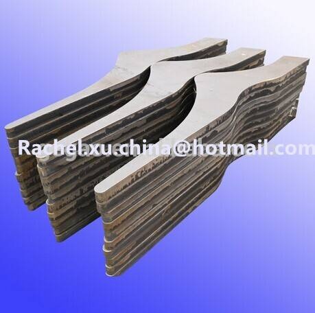 Designed CNC Metal Flame Cutting Parts Fabrication Work Service
