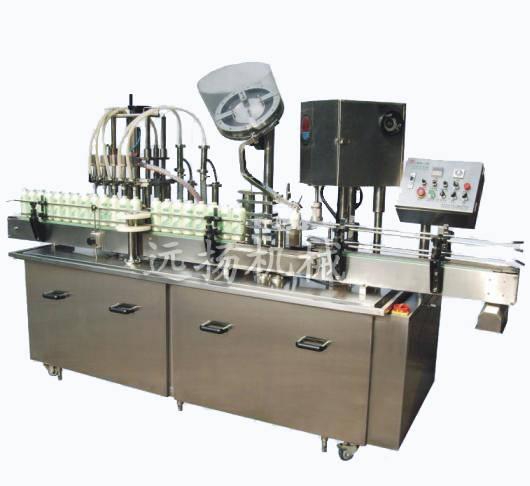 automatic bottle filling machine for liquid filling
