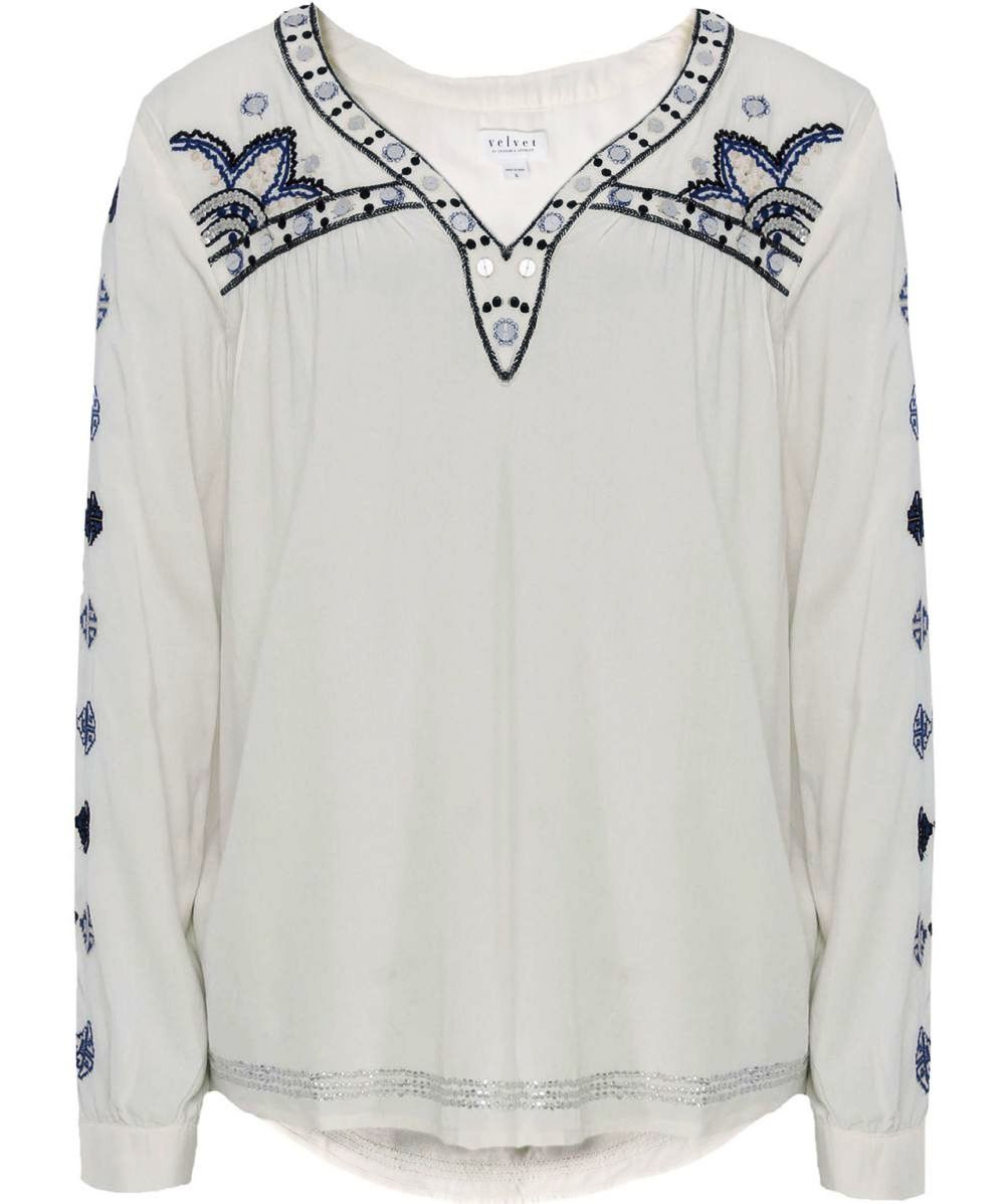 Embroidery Ladies Shirt