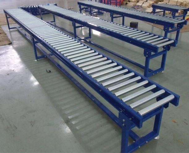 Roller conveyor, gravity conveyor