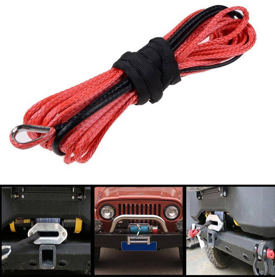 synthetic rope winch rope winch cable rope