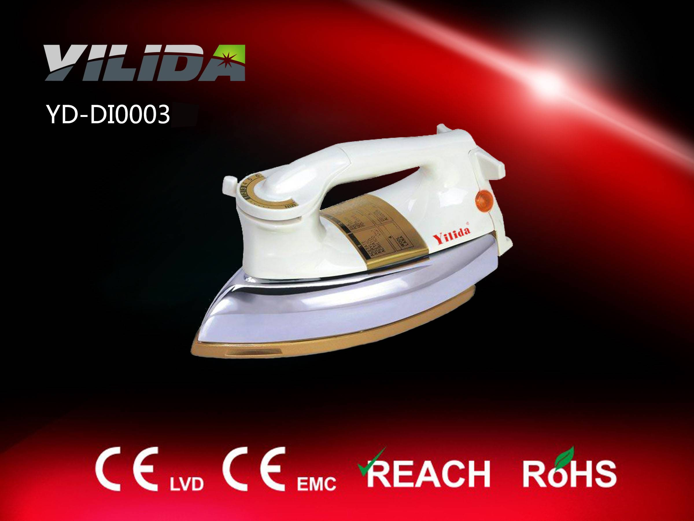 Automatic Electric Dry Iron popular in Mid-east