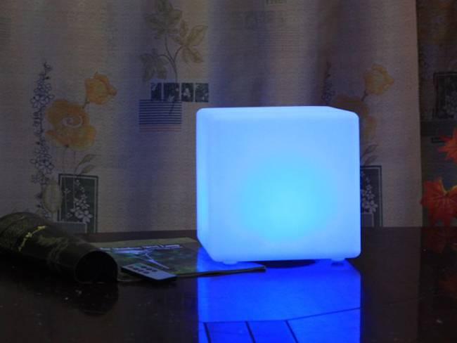 Nice Large Furniture LED Party/Bar Mood Light Cube /Landscape Lamp/ Led Chair /Led Cube /Led Sofa/Ba