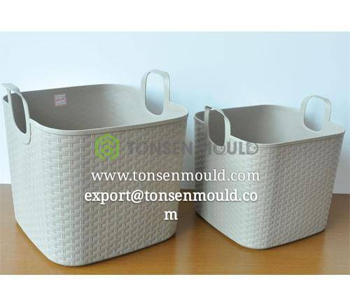 industion big and small rattan style basket mould tooling