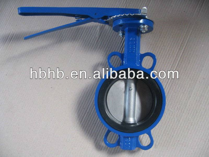 High quality soft seal butterfly valve