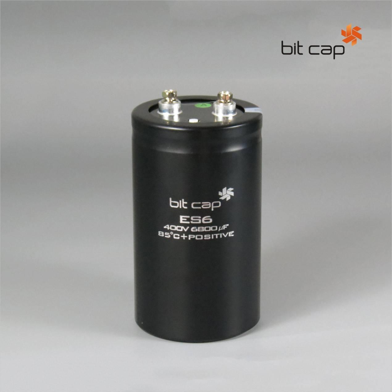 bit cap ES6  400V 6800uF  aluminum electronic capacitors