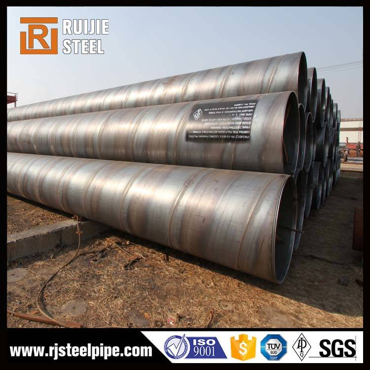 SSAW Carbon Spiral Welding Steel Pipe