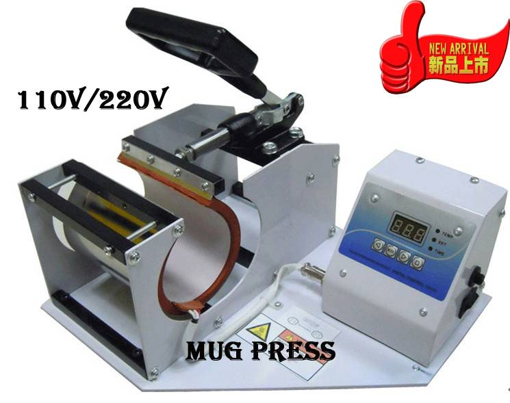 Heat Press Cone Mug Printer, DIY Image Photo Machine Photo On Mug Printer
