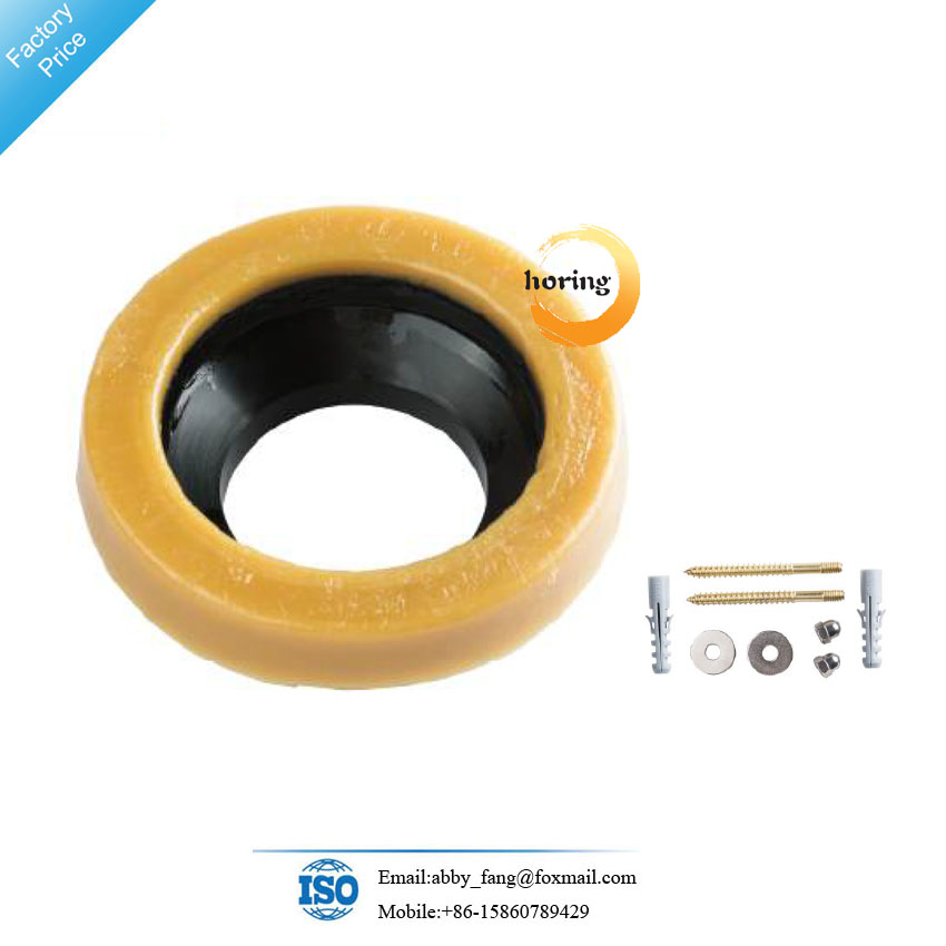 Toilet Wax Ring Kit with Flange and toilet Bolts