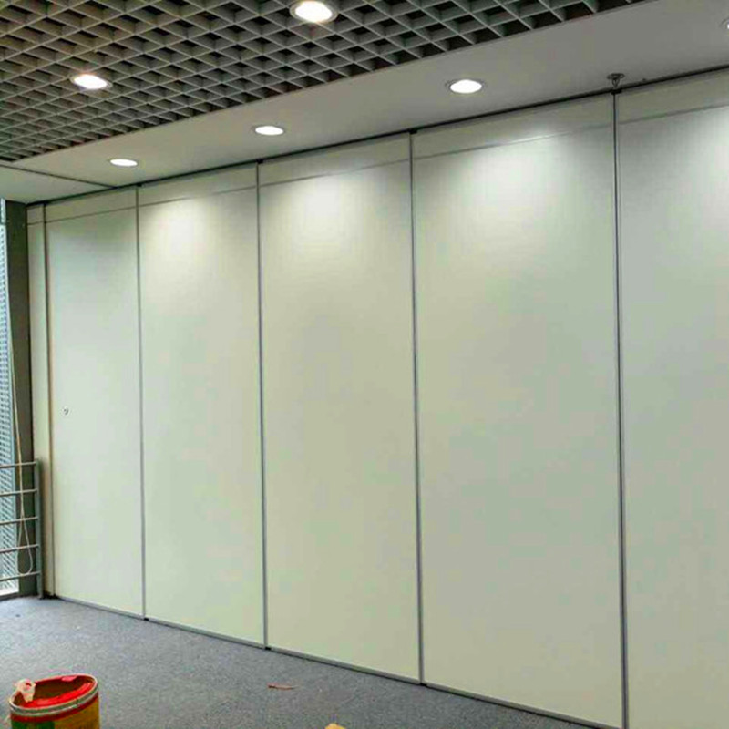 Soundproof Sliding Folding Floor To Ceiling Movable Wall Partition For Restaurant