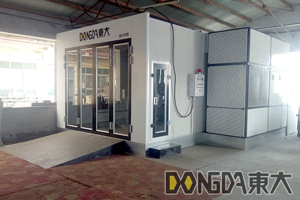 AUTO SPRAY BOOTH FROM CHINA DD-SX