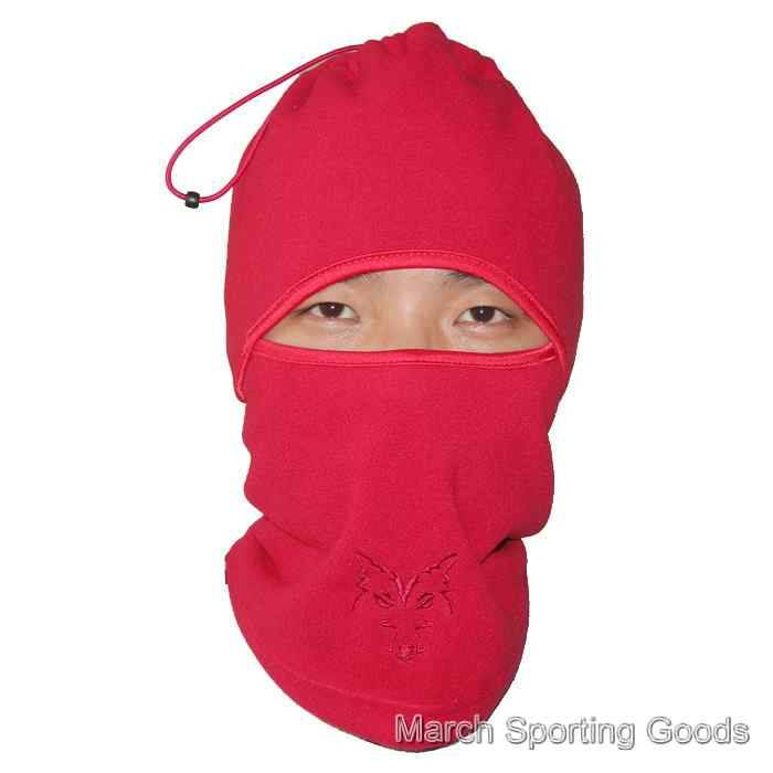 Outdoor Sports Winter Warm Windproof Polar Fleece Mask Neck Face Cover Balaclava Hood For Ski Snowbo
