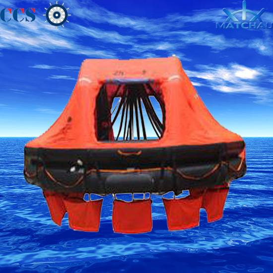 Davit-Launching/Davit-Launched Inflatable Liferaft for 65 Person