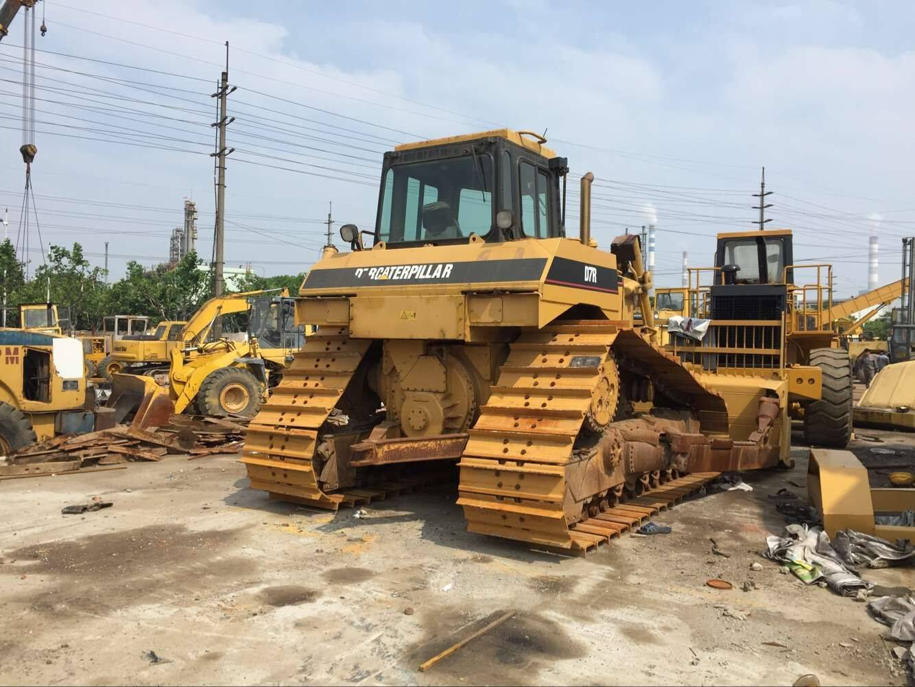 Used caterpillar Bulldozer D7r Original Japan Machine