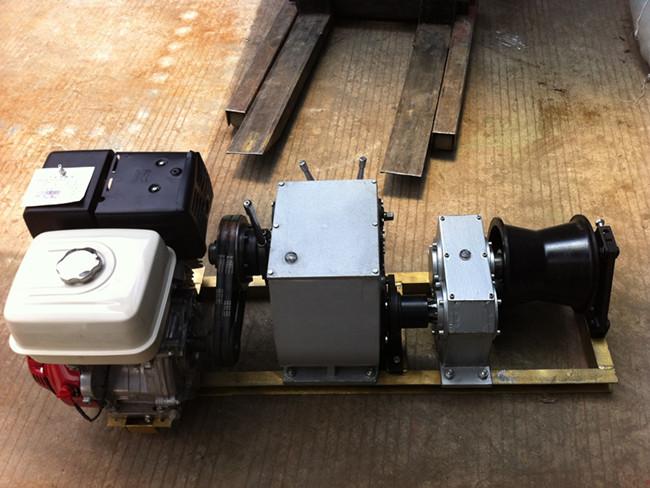 8T Engine Powered Winch
