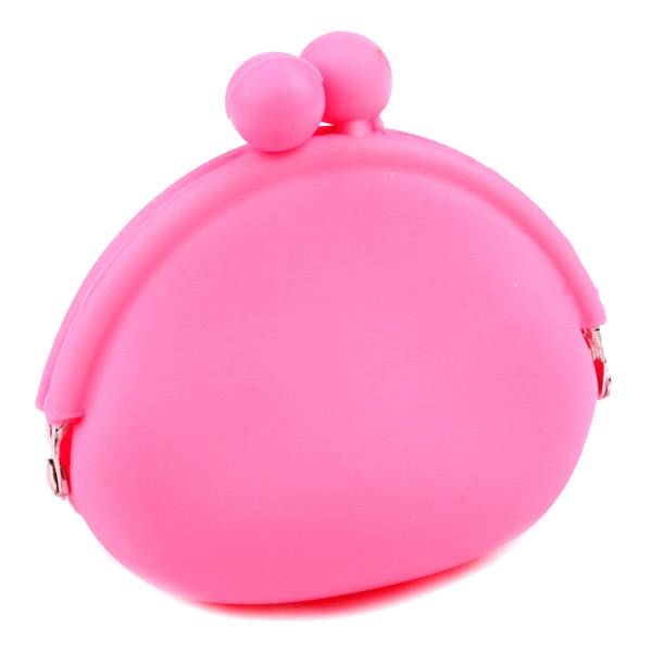 Silicone Purse for Coin with Lovely Candy Color