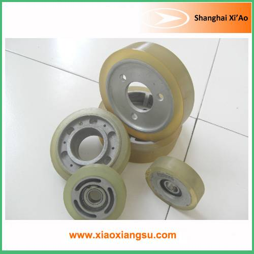 Rubber Conveyor Roller and Wheel for Industry use
