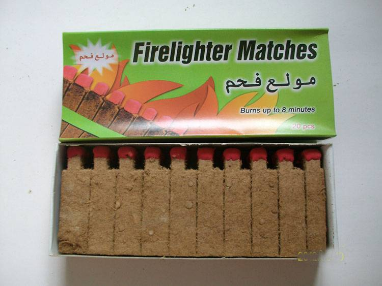 Factory supply firelighters for BBQ charcoal