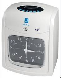 Electronic time card clock K-8