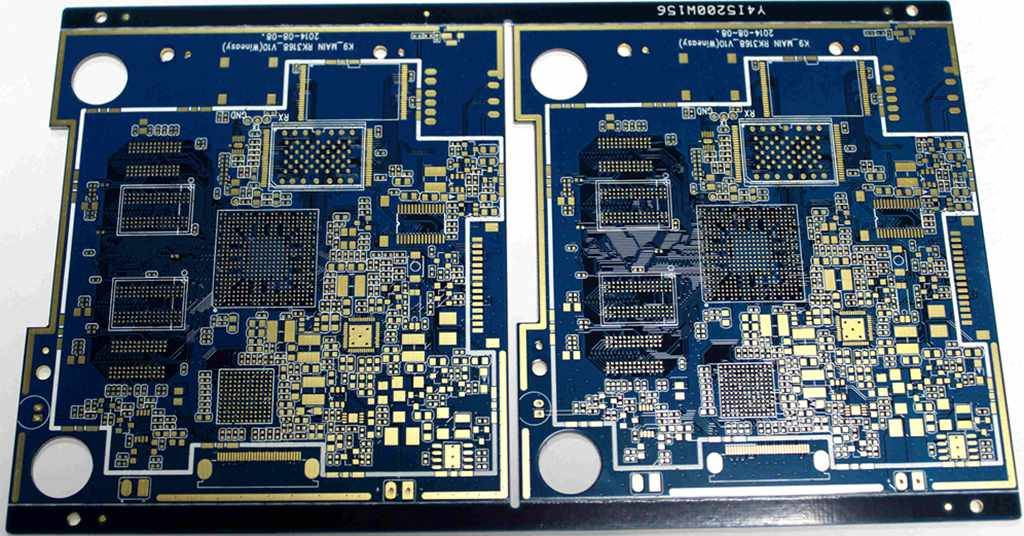 4 Layer Immersion Gold PCB For MID PCB