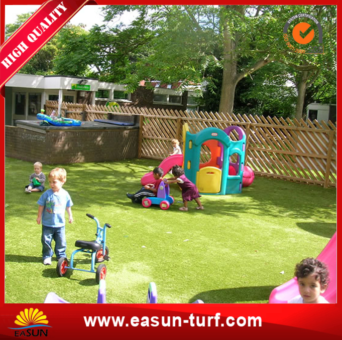 Waterproof Soft Artificial Turf Fake Grass for Public-MY