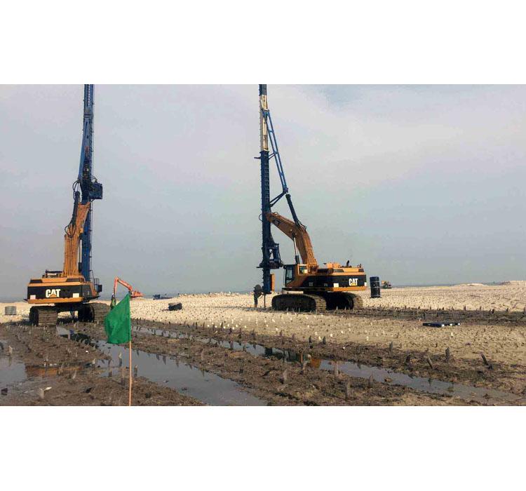 Soft soil improvement construction, Soft ground treatment consruction company