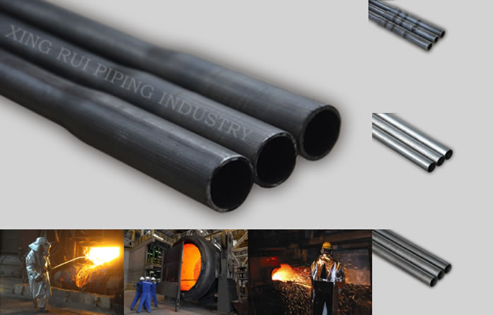OD16mm L1000mm Oxygen Lancing Pipe for steelmaking