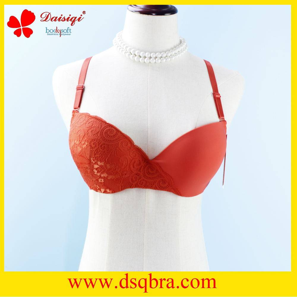 new lingerie lace design sexy bra made in China