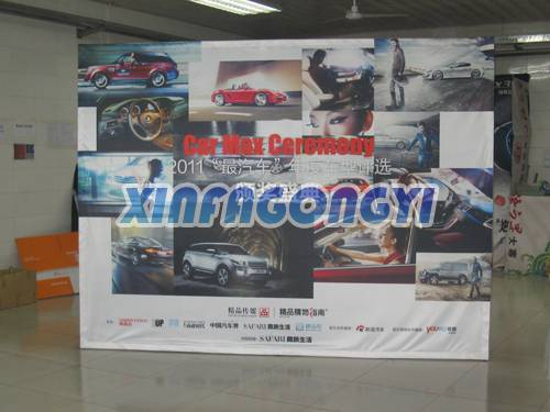 Digital printing Pop up banner for advertising