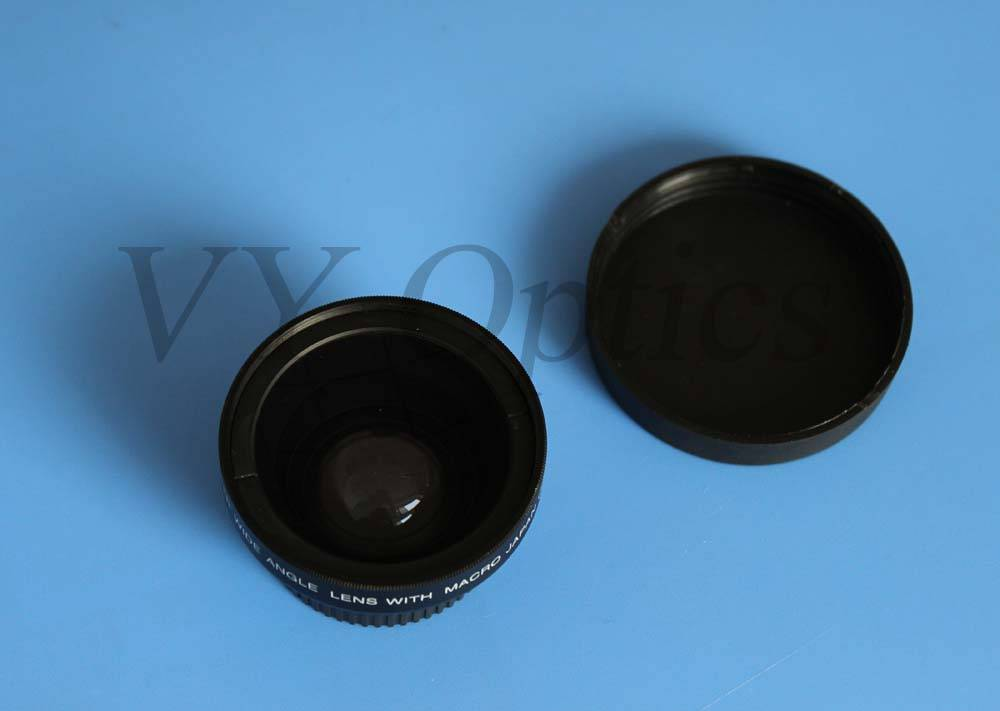 optical 0.65x wide angle converter lens