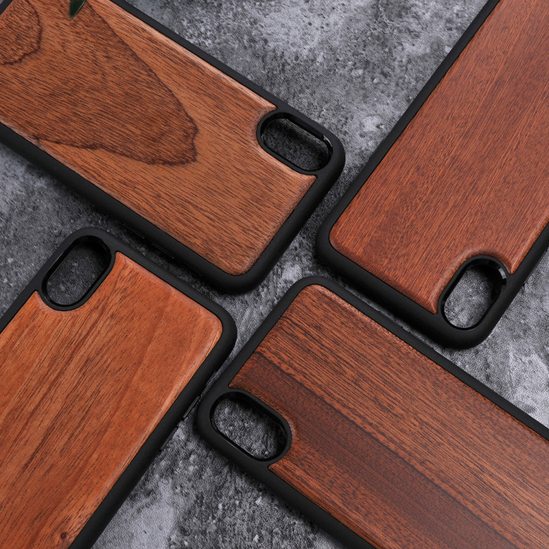 Cool Tpu wood phone covers protective cases for iphone8
