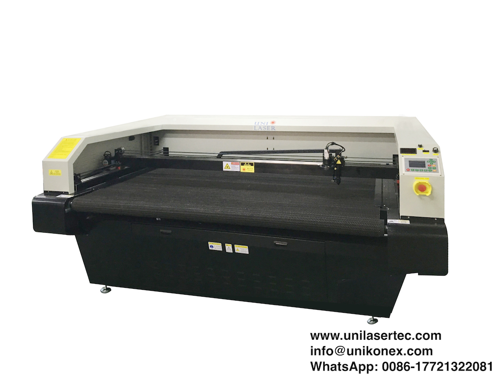 Hockey Jersey Laser Cutting machine