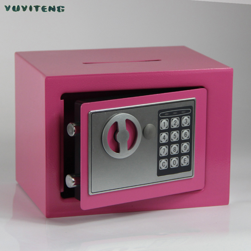 Household Use Metal Small Safe Box for Kids