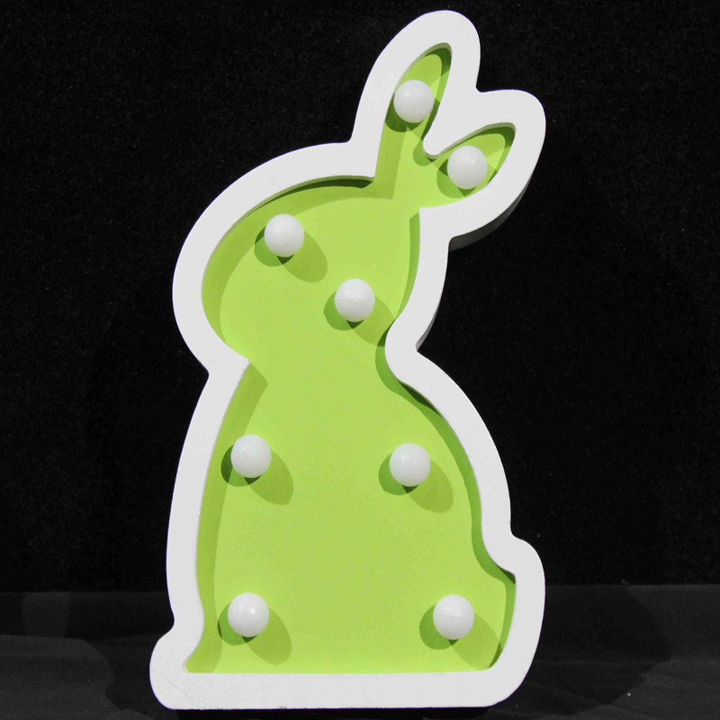 decorative bunny night light animal gift led for Easter