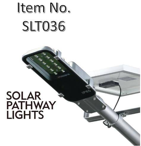 Solar Street Light with 10W Detachable Solar Cell