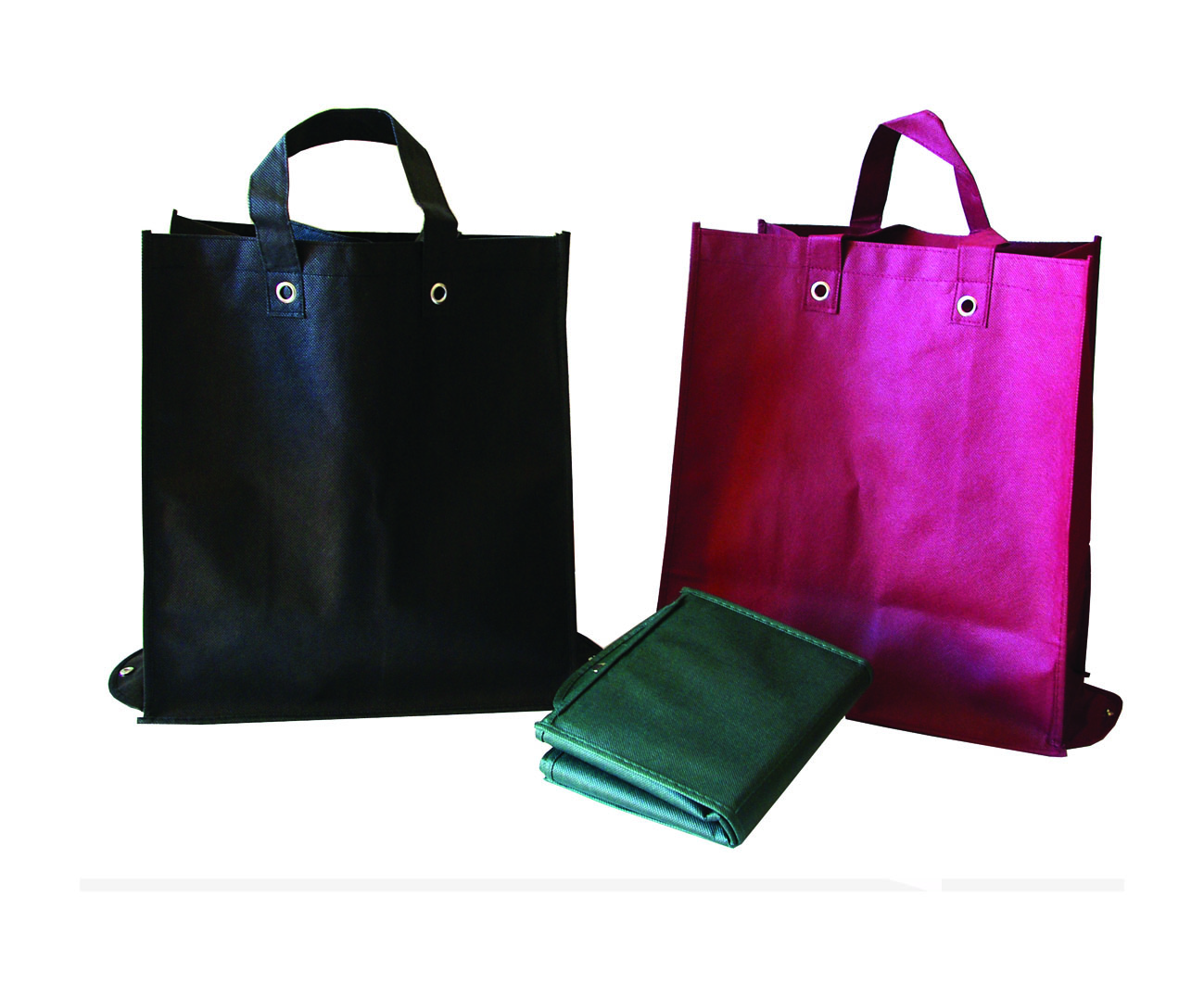 Reusable foldable non woven shopping bag for promotion
