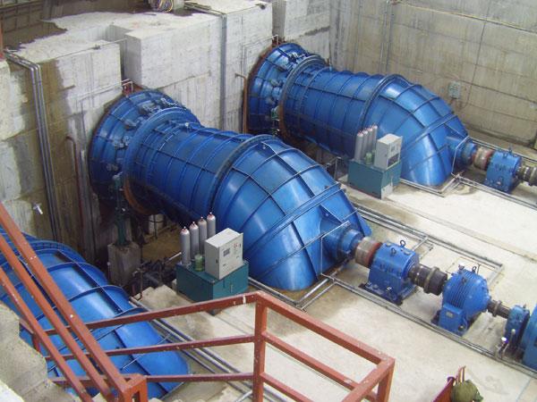 Water Turbine/Power Plant